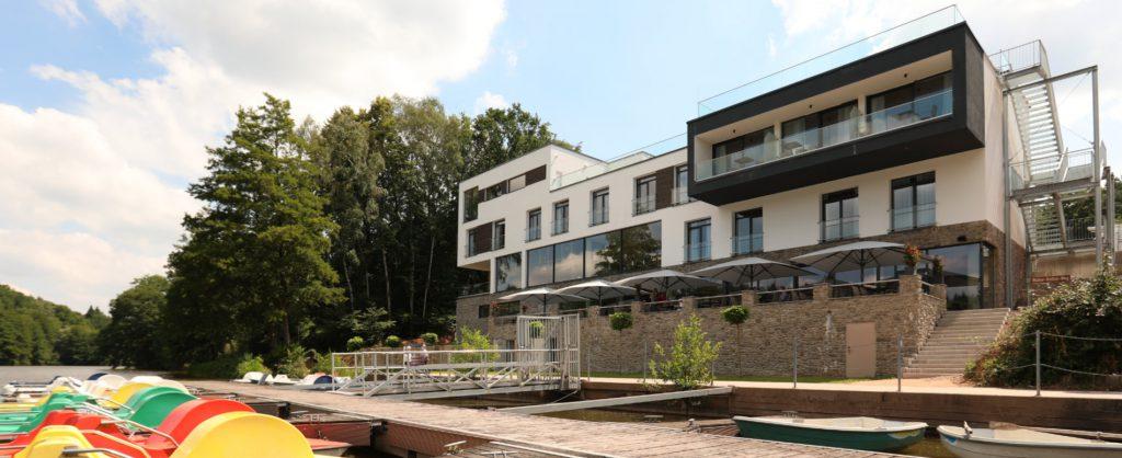Peters Hotel - Wellness & Spa Blick von der Seeseite
