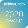 HolidayCheck Award 2020 - Peters Hotel Homburg Jägersburg
